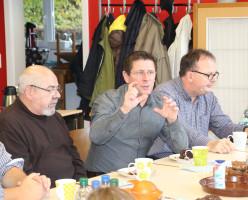 Diskussion im Alten Feuerwehrhaus